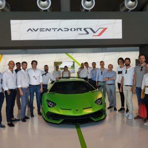 Visita alla Lamborghini