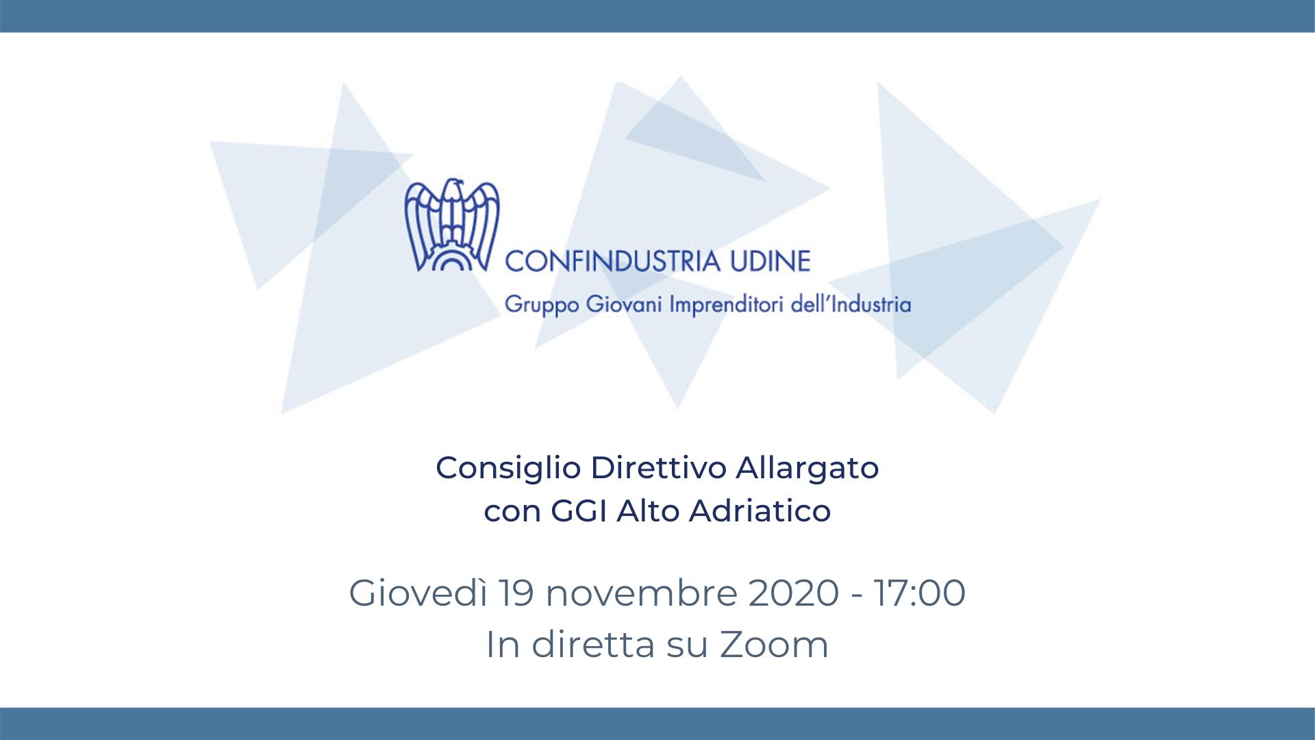 Consiglio Direttivo Allargato con GGI Alto Adriatico