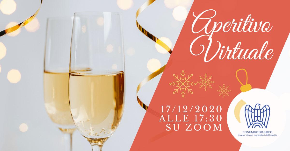 aperitivo virtuale auguri natale 17 dicembre 2020