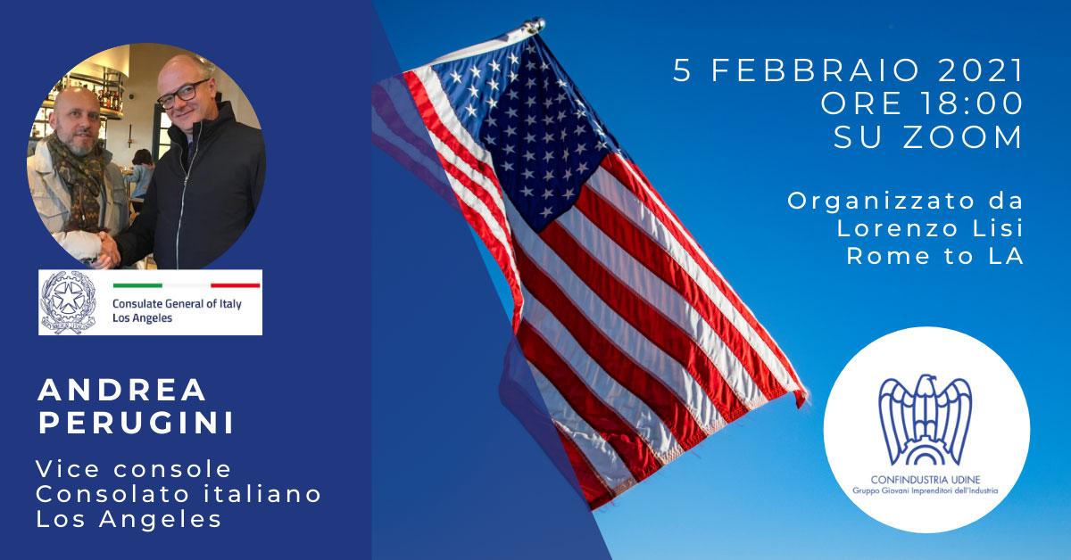incontro consolato Andrea Perugini 5 febbraio 2021