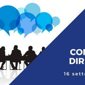 copertina evento consiglio direttivo settembre 2021